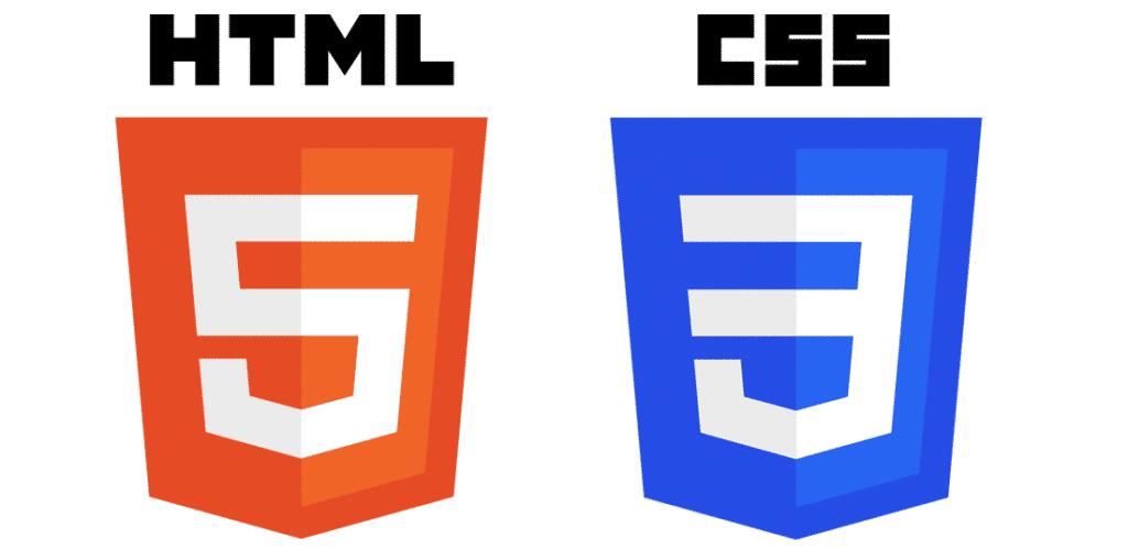 HTML и CSS логотип